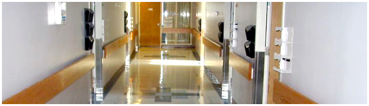 Civic Hospital Halls Refinishing and Rooms Renovations